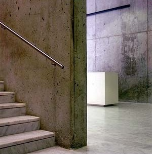 Museu Picasso, detalhe da estrutura em concreto aparente<br />Foto: Institut Amatller d'Art Hispànic / Arxius MAS / Arxiu Fotogràfic Municipal
