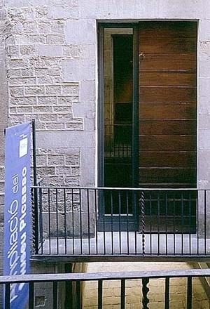 Museu Picasso, transformação da fachada, balcão no primeiro piso<br />Foto: Institut Amatller d'Art Hispànic / Arxius MAS / Arxiu Fotogràfic Municipal