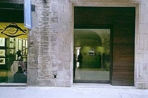 Museu Picasso, transformação da fachada, abertura no piso térreo<br />Foto: Institut Amatller d'Art Hispànic / Arxius MAS / Arxiu Fotogràfic Municipal