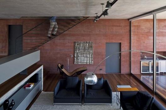 Casa Boaçava, São Paulo, 2009-2011, Una Arquitetos<br />Foto Leonardo Finotti  [Acervo Una Arquitetos]