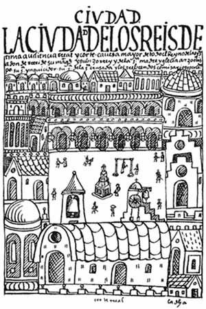[G. Poma de Ayala, Nueva Coronica y Buen Gobierno, F. Pease ed. México D.F, Fondo de Cultur]