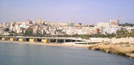 Passarela de Tarragona, visão geral<br />Foto Vera Hazan