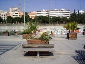 Passarela de Tarragona, praça<br />Foto Vera Hazan