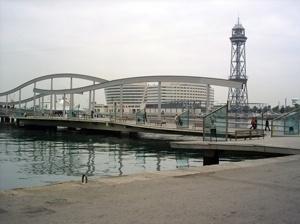 Port Vell em Barcelona, visão geral<br />Foto Vera Hazan