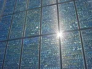 Módulos fotovoltaicos <br />Fotos Oscar Aceves TFM