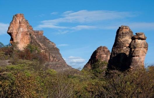 Parque Nacional da Serra da Capivara, São Raimundo Nonato PI, Brasil<br />Foto José Tabacow