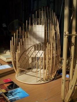 Tjibaou Cultural Centre Model<br />Foto mishmoshimoshi/gabi  [Wikimedia Commons]