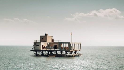 Cena do filme <i>A incrível história da Ilha das Rosas</i>, direção de Sydney Sibilia, 2020<br />Foto divulgação  [Netflix]