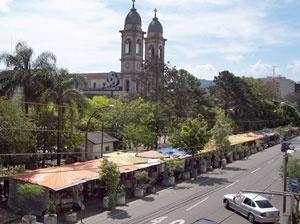 Avenida Rio Branco atualmente<br />Foto autores, 2005