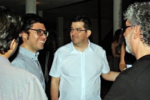 Patricio Mardones Hiche, Mario Figueroa e Marcio Kogan<br />Foto Thomas Bussius
