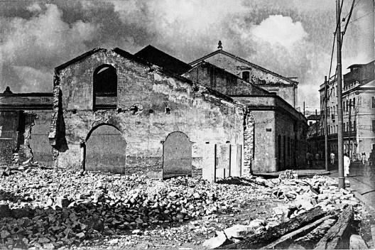 Rua Visconde de Itaparica, atual rua do Apolo, Recife PE, c.1940<br />Foto Benicio Whatley Dias  [Fundaj, ME]
