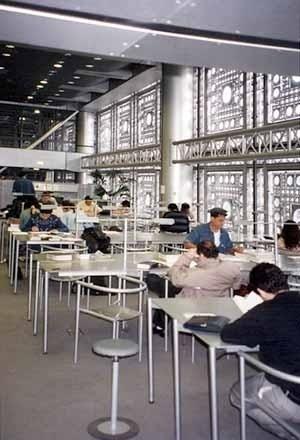 Instituto do Mundo Árabe, Paris, França. Arquiteto Jean Nouvel<br />Foto A. Guerra