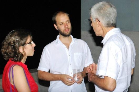 Raquel Schenkman Contier, Felipe Contier e Vladimir Bartalini<br />Foto Thomas Bussius