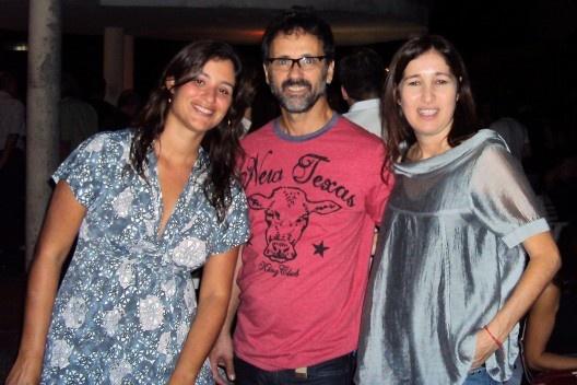 Maria Augusta Bueno, Mauro Sanchez e Silvana Romano Santos<br />Foto Thomas Bussius