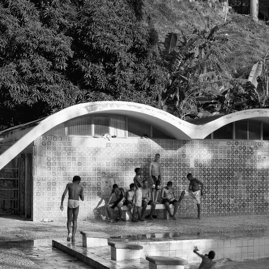 Conjunto habitacional de Pedregulho, Rio de Janeiro, arquiteto Affonso Eduardo Reidy<br />Foto Andres Otero
