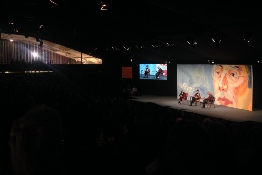 Sessão de abertura da Flip 2015<br />Foto Abilio Guerra