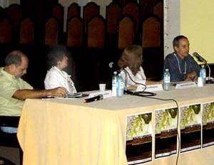 Mesa redonda 5, com Rogério Oliveira, Cessa Guimaraens, Maria Ângela Dias e Carlos Terra