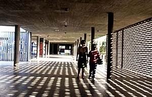 Plaza Cubierta, Ciudad Universitaria de Caracas, Carlos Raúl Villanueva. 1952-1953