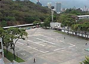 Praça da Reitoria, Cidade Universitária de Caracas, Carlos Raúl Villanueva, 1952-1953 [Website Centenário Villanueva]