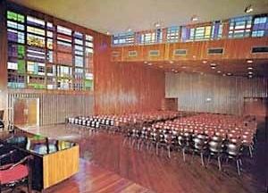 Paraninfo, Ciudad Universitaria de Caracas, Carlos Raúl Villanueva, 1952-1953 [Website Centenário Villanueva]