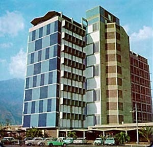 Faculdade de Arquitetura e Urbanismo, Cidade Universitária de Caracas, Carlos Raúl Villanueva, 1954-1957 [Website Centenário Villanueva]