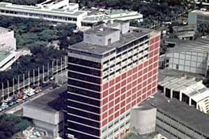 Biblioteca Central, Ciudad Universitaria de Caracas, Carlos Raúl Villanueva, 1952-1953 [Website Centenário Villanueva]