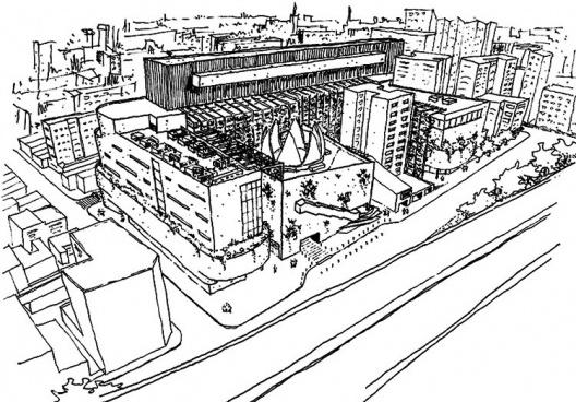 Centro Comercial do Bixiga. Brasil Arquitetura
