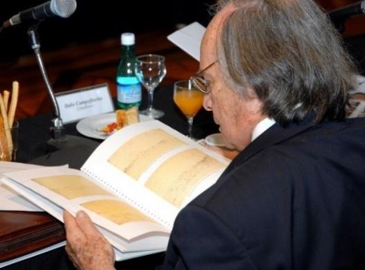 Ítalo Campofiorito na reunião do Conselho Consultivo do Iphan, dia 27 de novembro de 2008, Paço Imperial, Rio de Janeiro<br />Foto Oscar Liberal  [Acervo Iphan]
