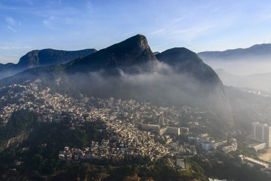 Vidigal Favela, Rio de Janeiro, 2014<br />Photo Chensiyuan  [Wikimedia Commons]