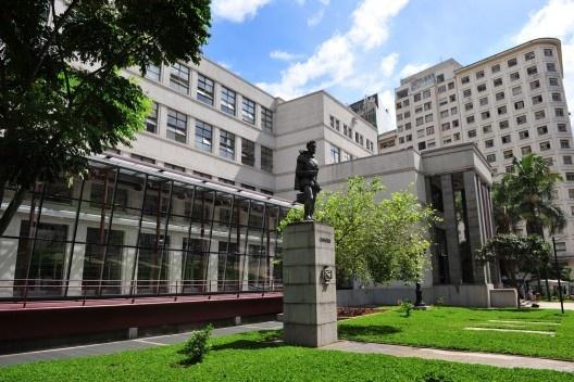 Biblioteca Pública Mario de Andrade<br />foto Sylvia Masini  [Secretaria Municipal de Cultura de São Paulo]