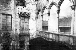 Palau Berenguer d'Aguilar (Museu Picasso) <br />Foto: Institut Amatller d'Art Hispànic / Arxius MAS / Arxiu Fotogràfic Municipal