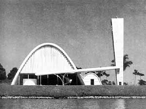Igreja de São Francisco, Pampulha, 1942, Oscar Niemeyer
