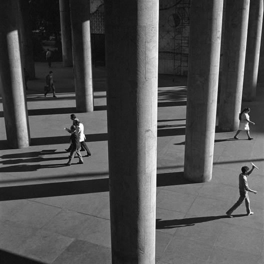 Palácio Gustavo Capanema, Rio de Janeiro RJ, 1986<br />Foto Cristiano Mascaro