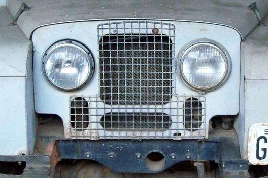 Rand Rover do Iphan, detalhe<br />Foto Caio Bourg de Mello