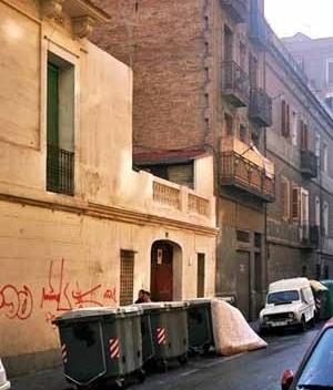 Vista del barrio barcelonés de Poble-Sec.<br />Foto do autor
