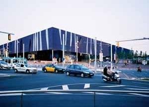 Vista del Edifico Fórum<br />Foto do autor (agosto 2004)