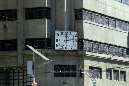 Relógio do Edifício do Mappin<br />Foto Silvana Romano