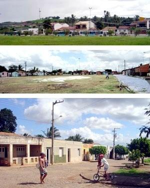 Municípios de Carira, Capela e Itaporanga d'Ajuda – fotos dos três sítios
