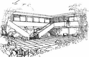 Casas sem dono nº 3, década de 30 [COSTA, Lucio. Registro de uma vivência, Empresa das Artes, São Paulo, 1995]