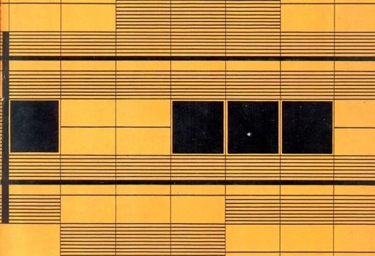 Detalhe de capa da revista Acrópole, n 251, jan. 1959 com desenho do arquiteto J. M. Bina Fonyat Filho que publica nesse número o artigo dedicado a esquadrias