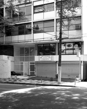 Edifício Camillo Sallum, Arq. Maurício Kogan, Rua Batataes<br />Foto LEG