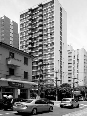 Edifício Godel Kon, Arq. João Kon, Rua Lorena<br />Foto LEG