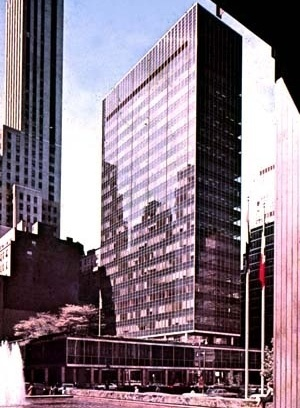 Lever House, NY, EUA. MILLET, M. S. Light Revealing Architecture. USA, 1996