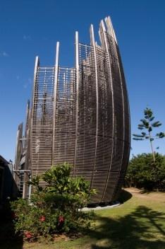 Tjibaou cultural center, Nouméa, New Caledonia.<br />Foto Fanny Schertzer  [Wikimedia Commons]