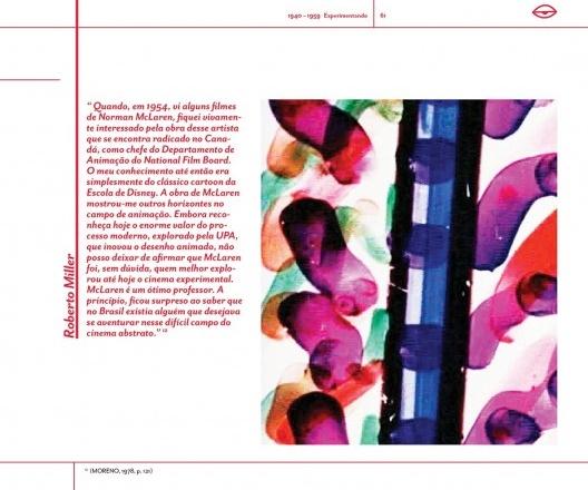 Página do livro <i>Trajetória do cinema de animação no Brasil</i>, de Ana Flávia Marcheti<br />Imagem divulgação