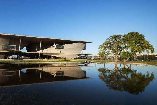 Cidade das Artes, Rio de Janeiro, arquiteto Christian de Portzamparc<br />Foto Nelson Kon