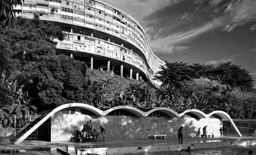 Conjunto Residencial Pedregulho, Rio de Janeiro, 1947-1958. Affonso Eduardo Reidy<br />Foto Andrés Otero