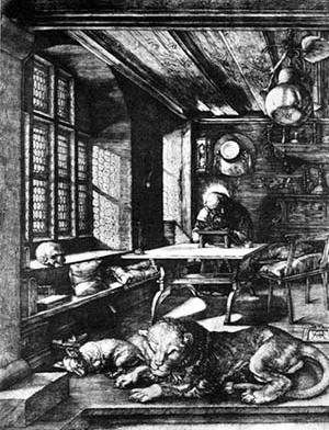 São Jerônimo, Albrecht Dürer, c. 1495-1515