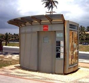 Sanitário da JCDecaux, Patamares - Salvador, BA<br />Foto o autor