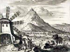 Potosi. Olfert Dapper, cerca de 1673